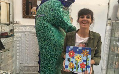 Mosaic courses in Barcelona – Cursos de mosaico en Barcelona