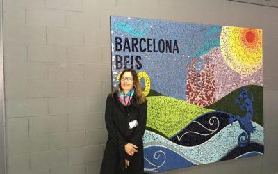 Trencadís group activity with MOSAICCOS and Benjamin Franklin International School Barcelona